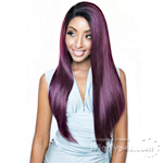 Isis Brown Sugar Human Hair Blend Frontal Lace Front Wig - BSF11 (13x4 Lace Closure Wig)