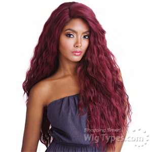 Isis Brown Sugar Human Hair Blend Frontal Lace Front Wig - BSF14 (13x4 Lace Closure Wig)