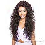 Isis Brown Sugar Human Hair Blend Glueless Lace Front Wig - BSG203 TRIBECA (Ear-to-Ear Elastic Band Wig)