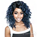 Isis Brown Sugar Human Hair Blend Glueless Lace Front Wig - BSG206 VENICE (Ear-to-Ear Elastic Band Wig)