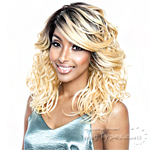 Isis Brown Sugar Human Hair Blend Glueless Lace Front Wig - BSG207 MELROSE (Ear-to-Ear Elastic Band Wig)