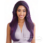 Isis Brown Sugar Human Hair Blend Glueless Lace Front Wig - BSG211 MARSEILLE (Ear-to-Ear Elastic Band Wig)