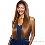 Isis Brown Sugar Natural Hairline  Human Hair Blend Lace Front Wig - BSN201 GLACIER