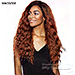 Isis Brown Sugar Natural Hairline Human Hair Blend Lace Front Wig - BSN204 ACADIA