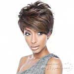 Isis Brown Sugar Human Hair Blend Queen B Wig - BSQ01 QUEEN RIHANNA