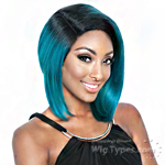 Isis Brown Sugar Human Hair Blend Signature Part Lace Front Wig - BSS201 CHIC