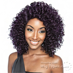 Isis Brown Sugar Human Hair Blend Signature Part Lace Front Wig - BSS205 VIBE