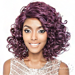 Isis Brown Sugar Human Hair Blend Signature Part Lace Front Wig - BSS206 ALLURE