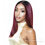 Isis Brown Sugar Human Hair Blend Uniweave V Part Wig - BSUW01 STRAIGHT 18