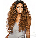 Isis Brown Sugar Human Hair Blend Versatile Lace Wig - BSX03 DEEP WAVE 24