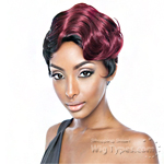 Isis Brown Sugar Human Hair Blend Stylist Wig - BST101 JAZZ