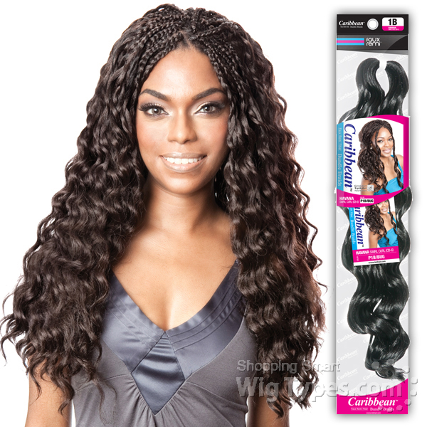 Isis Red Carpet Synthetic Caribbean Bundle Braid Aruba Soft Deep