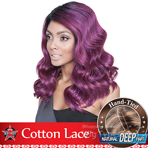 Mane Concept Red Carpet Synthetic Hair Cotton Lace Front Wig - RCP810 HOLLY