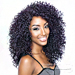 Isis Red Carpet Synthetic Hair Lace Front Wig - Rcp763 3B JORDAN CURL