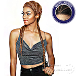 Isis Red Carpet Synthetic Ghana Braid Lace Wig - RCBG02 ATHENA 28