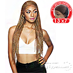 Isis Red Carpet Synthetic Invisible Braid Lace Wig - RCBI01 NICKI 28