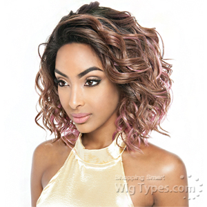 Isis Red Carpet Synthetic Hair Soft Swiss Lace Wig - RCP4402 DOLLY (4x4 Free Flow Part)