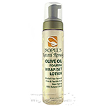 Isoplus Olive Oil Foaming Wrap Set Lotion 8.5oz