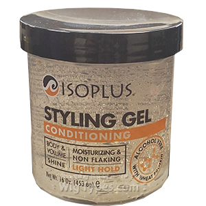 Isoplus Styling Gel Conditioning 16oz - Clear