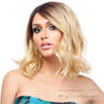 It's A Lace Front Wig - Synthetic Iron Friendly Lace Front Wig - SWISS LACE ASCONA (futura)