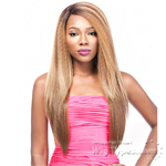 It's A Lace Front Wig - Synthetic Iron Friendly Lace Front Wig - SWISS LACE LANCY  (futura)
