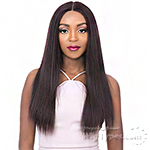 It's A Wig Human Hair Blend 4 Way Part Lace Wig - VIXEN X YAKI STRAIGHT