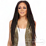 It's A Lace Front Wig - Synthetic Lace Front Wig - LACE BOX BRAID TWO