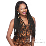 It's A Lace Front Wig - Synthetic Lace Front Wig - LACE BOX BRAID
