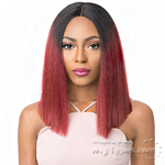 It's A Lace Front Wig - Synthetic Iron Friendly Lace Front Wig - LACE CABRINA