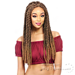 It's A Lace Front Wig - Synthetic Lace Front Wig - LACE CUBAN TWIST