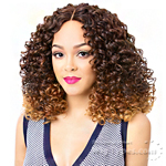 It's A Lace Front Wig - Synthetic Iron Friendly Lace Front Wig - LACE EMERALD (futura)