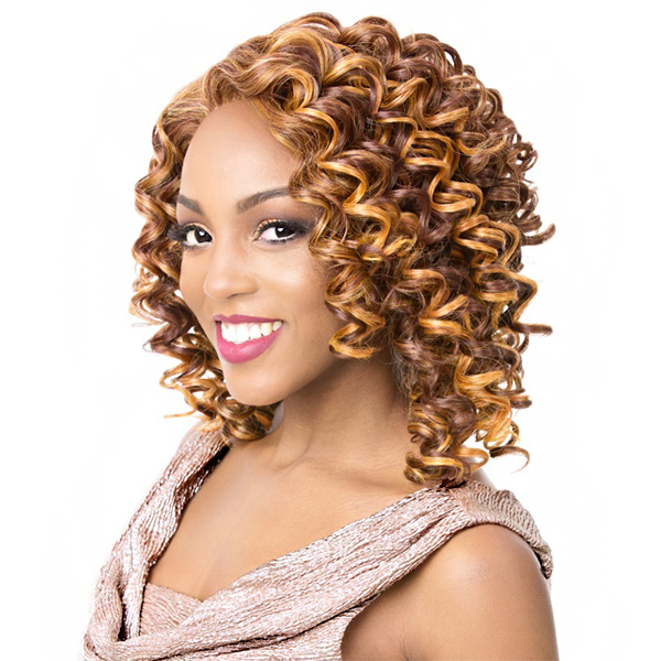 It's A Lace Front Wig - Synthetic A Line Lace Front Wig - LACE EMERSON