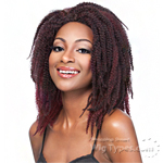 It's A Lace Front Wig - Synthetic Iron Friendly Lace Front Wig - LACE REGGAE (futura)