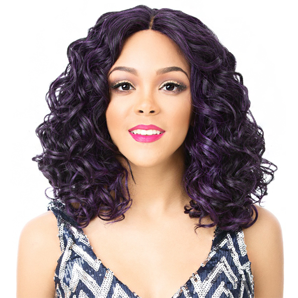 It's A Lace Front Wig - Synthetic Iron Friendly Lace Front Wig - LACE WINK