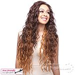 It's a Lace Front Wig - Synthetic Iron Friendly Lace Front Wig - LACE BROADWAY (Futura)