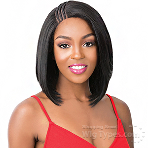 It's A Lace Front Wig -  SWISS LACE T BRAIDED PART MALIBU