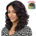 It's A Lace Front Wig - Synthetic Lace Front Wig - SUPER SWISS LACE JOANA (2 Inch Super Deep and Wide Swiss Lace Front)