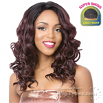 It's A Lace Front Wig - Synthetic Lace Front Wig - SUPER SWISS LACE TOWN (2 Inch Super Deep and Wide Swiss Lace Front)