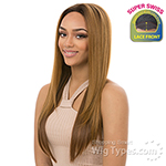 It's A Lace Front Wig - Synthetic Lace Front Wig - SUPER SWISS LACE SWAN (2 Inch Super Deep and Wide Swiss Lace Front)
