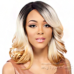 It's A Lace Front Wig - Synthetic Lace Front Wig - SWISS LACE AKINA (futura)