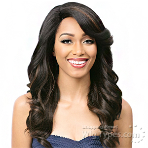 It's A Lace Front Wig - Synthetic Lace Front Wig - SWISS LACE ASPASIA (futura)
