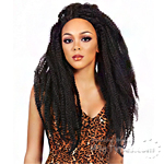 It's A Lace Front Wig - Synthetic Lace Front Wig - SWISS LACE JAMAICAN LOCKS