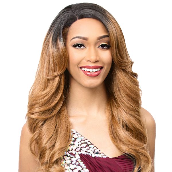 It's A Lace Front Wig - Synthetic Lace Front Wig - SWISS LACE MONTESSA