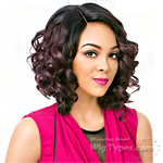It's A Lace Front Wig - Synthetic Lace Front Wig - SWISS LACE RIVER (Real Hair Line Part)