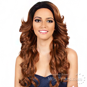 It's A Lace Front Wig - Synthetic Lace Front Wig - SWISS LACE SYMPHONY (4x4 Silk Lining Lace Front)