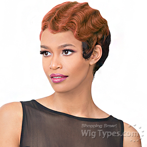 It's a wig Synthetic Wig - DOLL (futura)