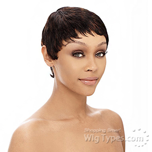 It's a Cap Weave 100% Human Hair Wig - MOLLY