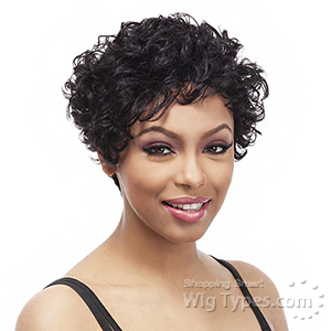 It's a Cap Weave 100% Human Hair Wig - THERESA
