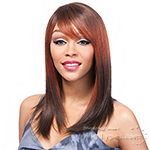 It's a Cap Weave 100% Human Hair Wig - YAKI 1214