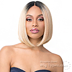 It's a wig Synthetic Wig - MOON LIGHT (6inch deep lace part)